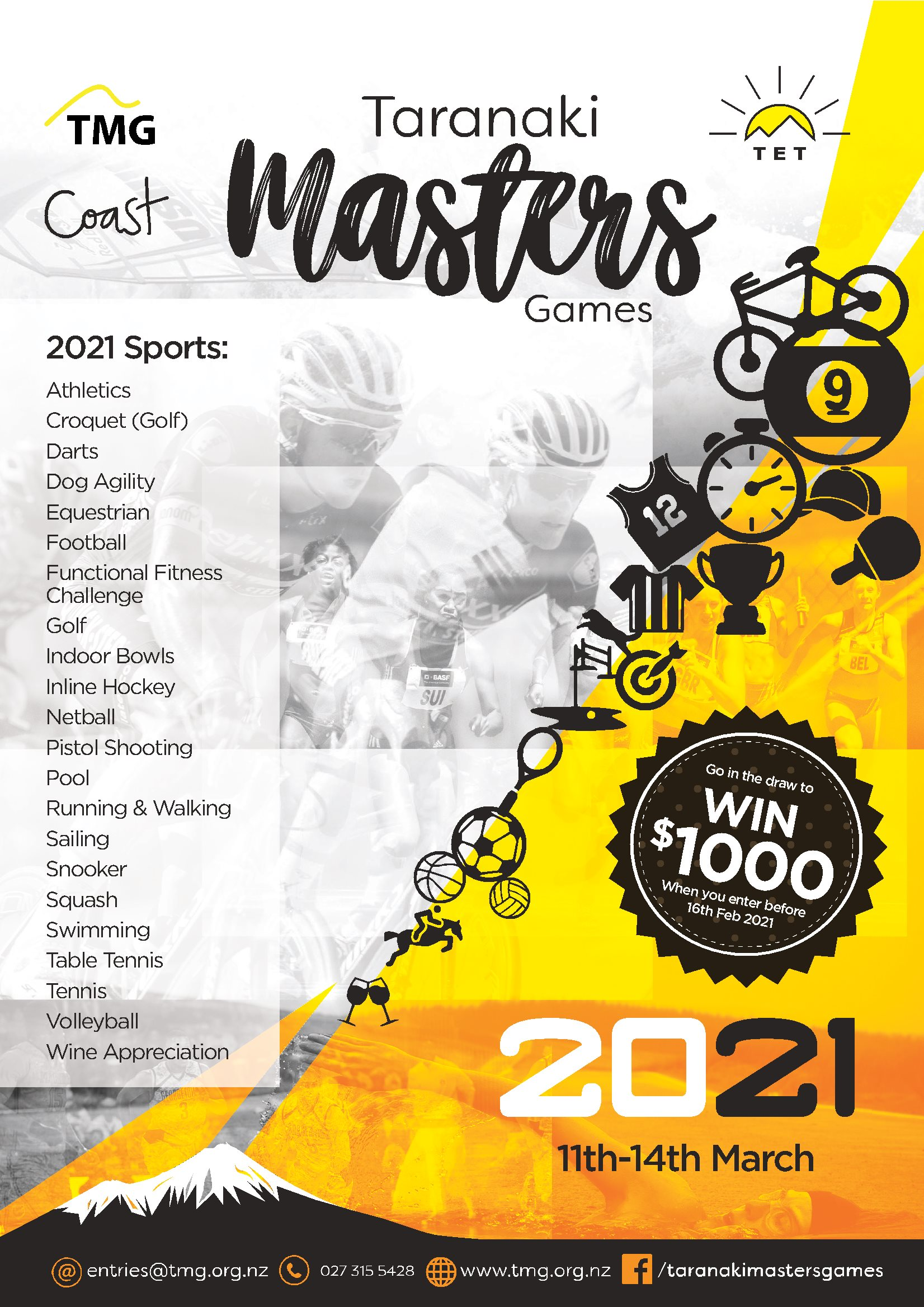 2021 Masters Games