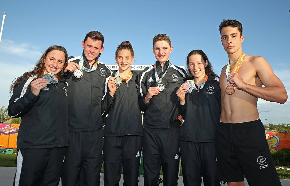 Zac Reid wins Gold in the 1500m Freestyle at the Youth Commonwealth Games.